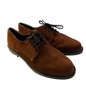 Cougar Suede Oxford Loafer Brown Lace Up
